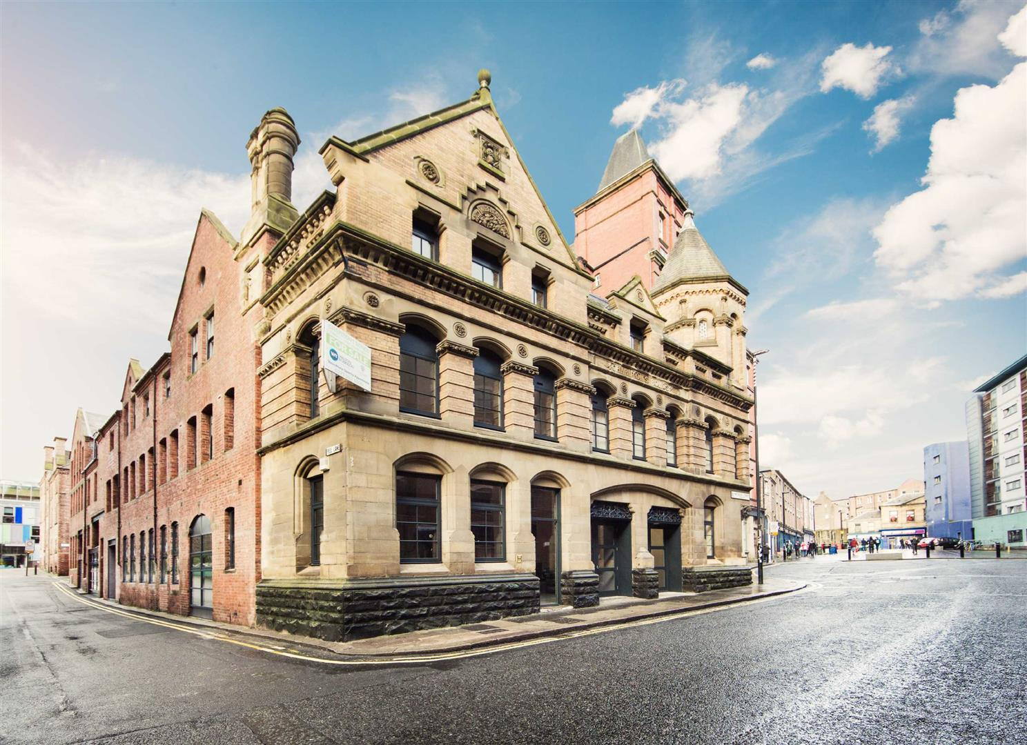 Waterloo Street Newcastle Upon Tyne, 8 Bedrooms  Block of flats ,For Sale